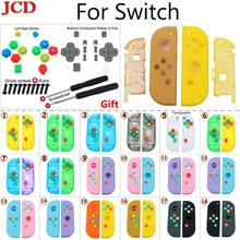 JCD DIY Gehäuse Shell Fall Abdeckung für Nintend für Schalter NS Controller für Freude Con Neue Ersatz Schutz Fällen für Nintendo