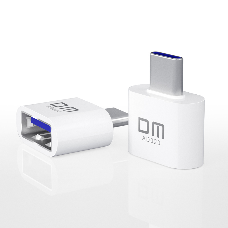 USB C Adapter AD020 DM OTG Adapter Turn Normal USB Into TYPE C Usb Flash Drive