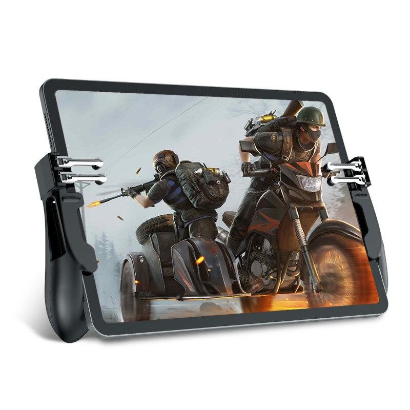 1 пара, контроллер Pubg для iPad 6, пальцы, клавиши прицела, свободный запуск L1R1, для Pubg, ручная рукоятка, геймпад для Android/iOS Smart Tablet