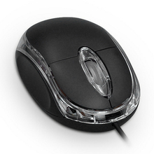 USB Mouse Wired Office Home 800 DPI Optical 2 Buttons Mice For PC Laptop Computer Portable Mini USB Wired Mouse Mice Desktop