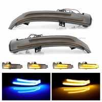 Für Benz A B C E S CLA GLA CLS Klasse Dynamische Blinker LED Licht W176 W246 W204 W212 c117 X156 Seite Hinten Spiegel Anzeige