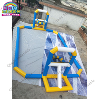 Water play equipment inflatable basketball target inflatable water basketball game for outdoor