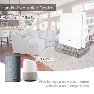 Image 3 - WIFI Smart Wall Light SWITCH RF433 เครื่องส่งสัญญาณ PUSH Button Smart Life Tuya APP รีโมทคอนโทรลทำงานร่วมกับ Alexa Google Home