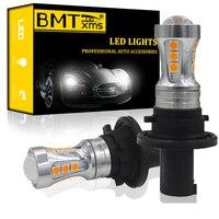BMTxms 2x PH24WY SPH24 LED indicatori di direzione automatici Canbus nessun errore ambra bianca per Audi Cadillac GMC Lincoln Saab Car Light