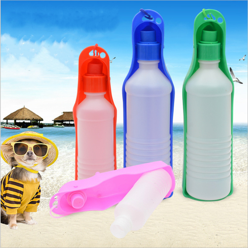 250ml 500ml font b Pet b font Drinking Bowl Bottle font b Pet b font Dog
