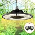 Светодиодсветильник фитолампа E27 для выращивания растений, 400 Вт, полный спектр, ламсветильник для выращивания растений в помещении, теплый ...