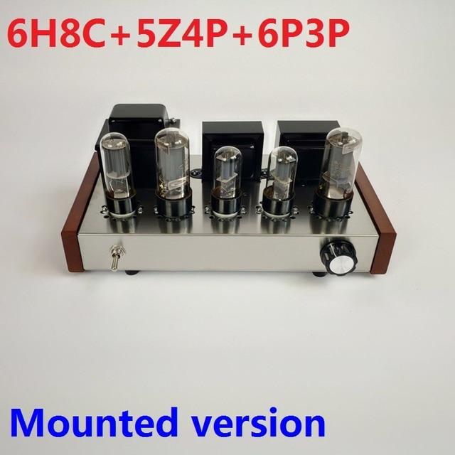 2020 Nobsound Home Audioเครื่องขยายเสียงหลอดสแตนเลสสตีล5Z4P + 6H8C + 6P3Pติดตั้งหลอดเอาต์พุต8W + 8W AC110V/220V
