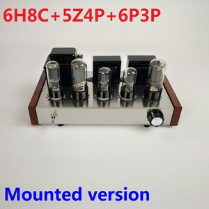 Image 1 - 2020 Nobsound Home Audio Tube Amplifier Stainless Steel Case 5Z4P+6H8C+6P3P Mounted Tube Amplifier Output 8W+8W AC110V/220V