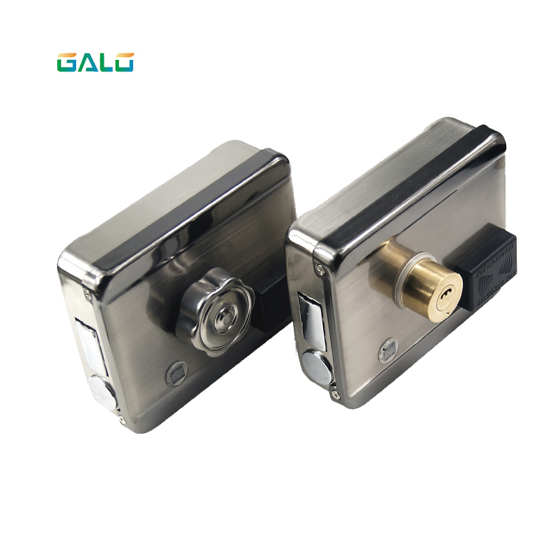 GALO New Battery Lock Anti-theft Door Lock Access Control System IC Card Electromagnetic Lock Free Wiring Standard Matching