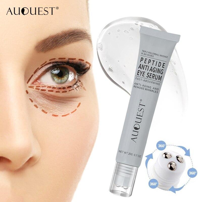 Auquest Peptide Eye Cream Anti Wrinkle Anti Aging Remove Puffy Eye