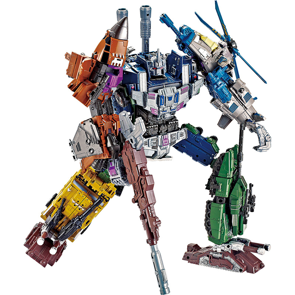 Bruticus Vortex Brawl Swindle 5IN1 Transformation KO No-Boxes Figure Toys