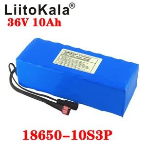 Image 2 - Liitokala 36 v 6ah 8ah 10ah 12ah bateria de bicicleta elétrica construída em 20a bms bateria de lítio 36 volts com 2a carga ebike bateria
