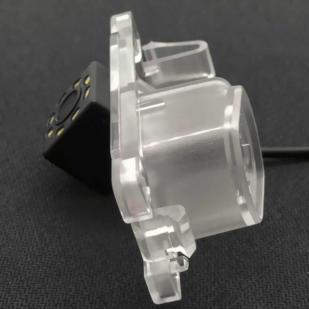 YIFOUM HD trajectoire dynamique suit la caméra de recul de vue arrière de voiture pour Mitsubishi Pajero Pinin TR4 iO amérique version/L200 Triton