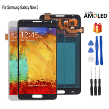 цены Super AMOLED For Samsung Galaxy Note 3 LCD Display N9005 Touch Screen Digitizer  For Samsung N9002 N9006 Display Screen LCD