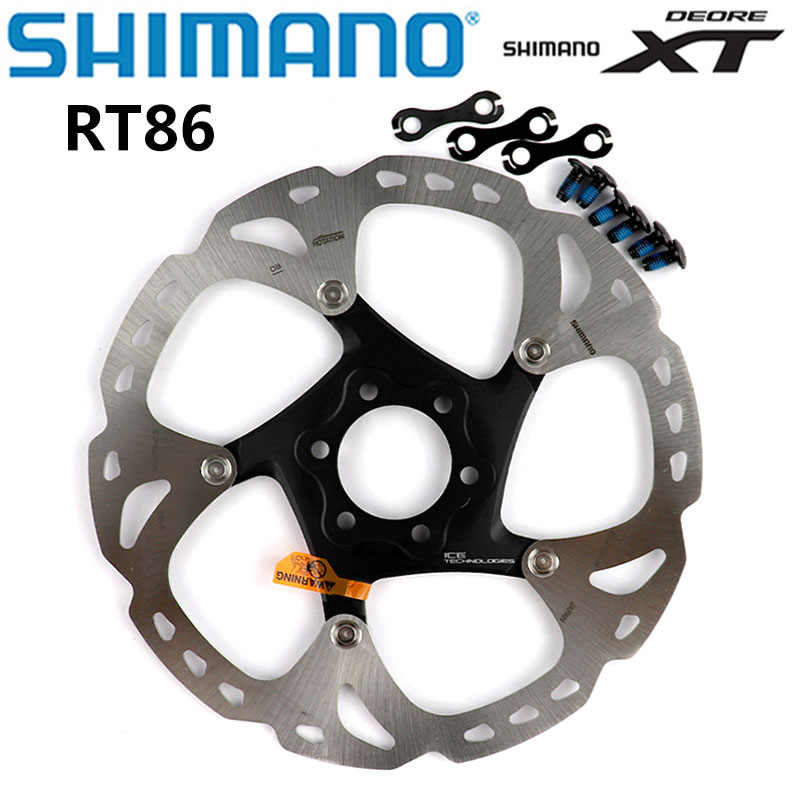 Shimano Xt Sm RT86 Ijs Punt Technologie Remschijf 6 Bolt M8000 Mountainbikes Disc Shimano RT86 160Mm 180mm 203Mm Mtb Bike