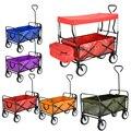 Panana dobrável carrinho de carrinho de mão carrinho de carrinho de carrinho de carrinho de plataforma de jardim casa ferramenta de jardim capacidade 100kg