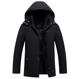 2019 Brand Winter Parkas Men Coat Hooded