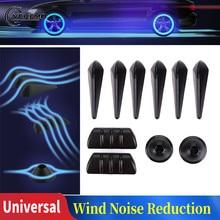 Adesivo de redução de ruído para carro, espelho retrovisor, anticolisão, universal, resistente ao vento