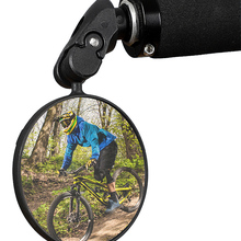 Rearview-Mirror Bike Cycling MTB West Biking Adjustable Wide-Angle 360-Rotation