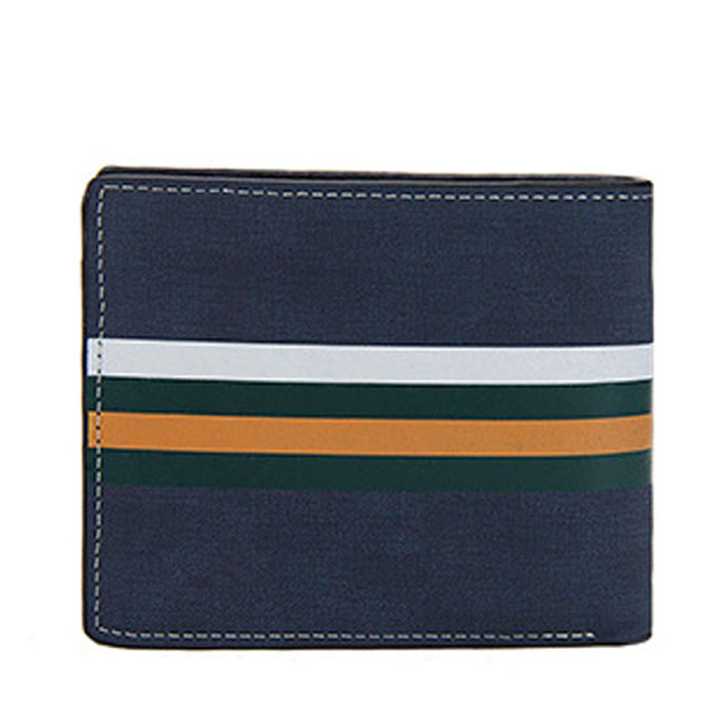 Soft Short Men Wallets 2019 New Casual Male Purses Credit Card Holder Small Clutch Purse Money Bag For Boy Vintage Men's Wallet