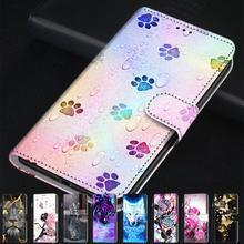 Fashion Cartoon Animal Flower Leather Phone Case For Samsung Grand Prime G530 J1 2016 J2 Core Cover Wallet Book Style