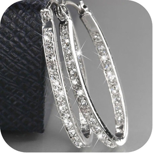 Женские серьги-кольца u-образной формы, круглые сережки-кольца серебристого/золотого цвета, вечерние серьги в подарок