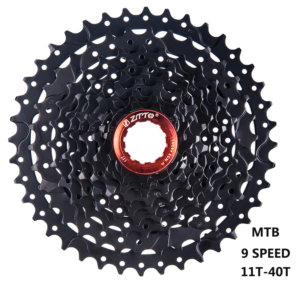 ZTTO 9 S <font><b>11</b></font>-40T <font><b>Cassette</b></font> 9 Speed <font><b>40</b></font> T MTB Mountain Bike Flywheel WIDE RATIO Bicycle Freewheel Sprocket for Shimano M430 Sram image