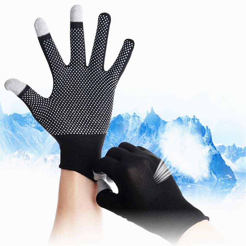 2020 New Arrival Summer Breathable Anti-skid GEL Touch Screen Glove Summer Car Driving Riding Wrist Gloves Sun Protection Gloves