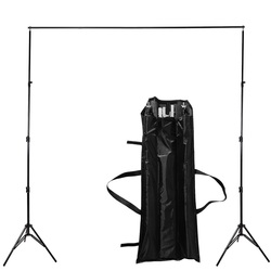 2.6 M X 3  / 10ft 8.5 * Pro Photo  Backdrops Back Support System  Stands Video Studio + carry bag