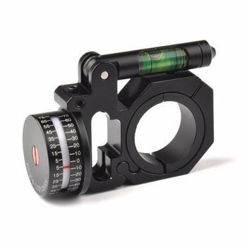 Новинка 2020, индикатор угла наклона правой рукой (ADI/ACI), пузырьковый уровень для винтовки, подходит для оптических фотографических колец 25,4 м...