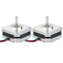 2Pcs 17Hs08-1004S 4-Lead Nema 17 Stepper Motor 20mm 1A 13Ncm(18.4Oz.In) 42 Motor Nema17 Stepper for Diy 3D Printer Cnc Xyz