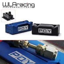 WLR RACING-Inserts de protection de mâchoire d'étau en aluminium pour raccords-avec WLR-SLV0304-01 arrière magnétique