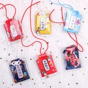 Amuleto tradicional japonés talismán Churinga Periapt Maneki Neko llavero de gato de la suerte mejor deseo bolsa de coche de mujer regalo ornamental