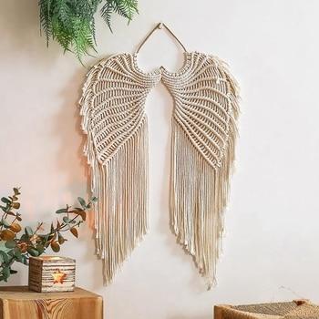Angel Wings Macrame Wall Hanging
