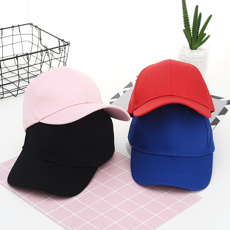 Berretto da baseball personalizzato stampa logo testo foto ricamo gorra cappelli solidi casual cappellino nero in puro colore cappellini Snapback per uomo donna 2