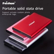 Disque dur externe SSD Portable, USB 120 Type C, disque dur de 500 go, 3.1 go, personnalisation privée, pour ordinateur Portable