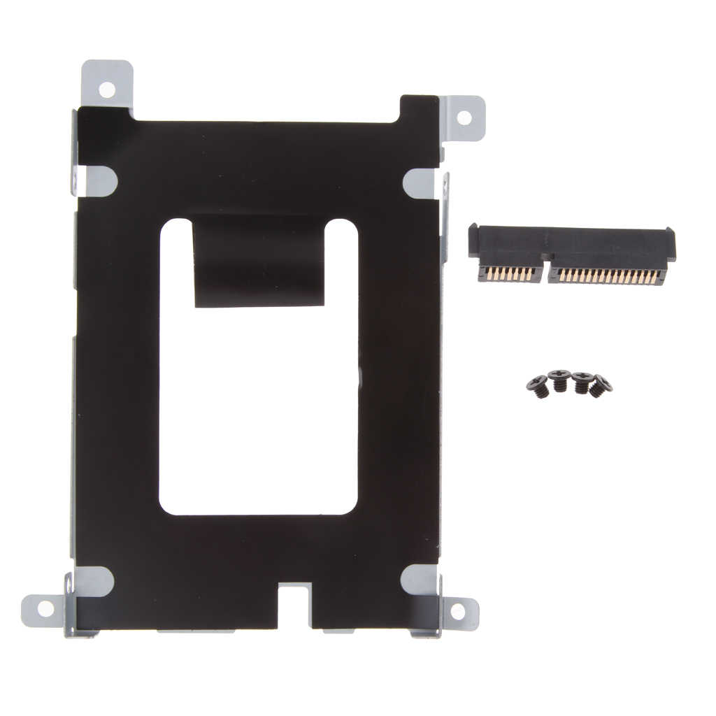 Replacement SATA HDD Hard Drive Caddy with Connector for Dell Latitude E5420 E5520 series (included 4 screws) D80V4