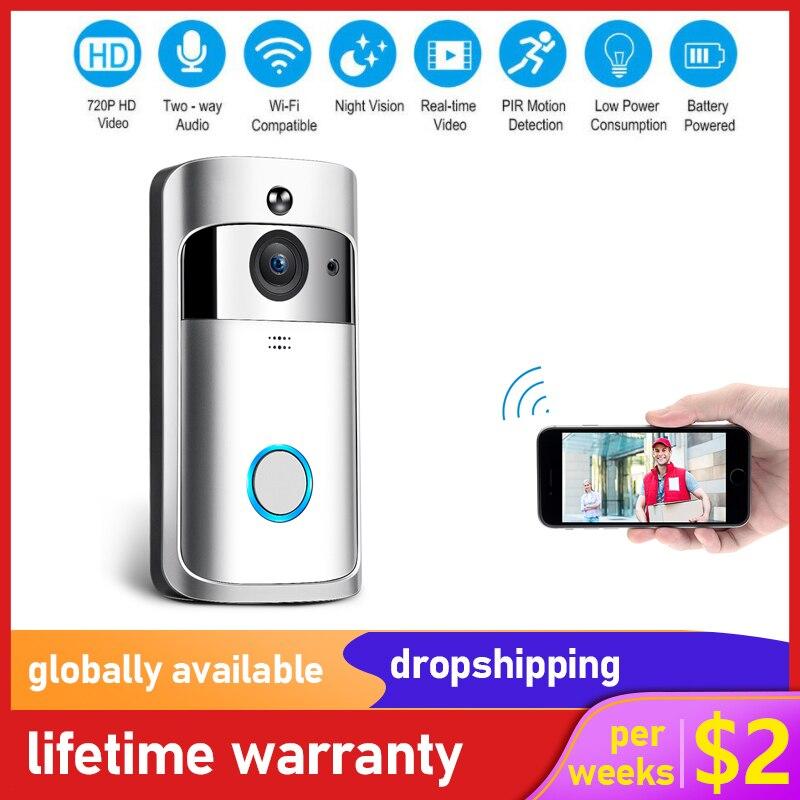 M3S беспроводной Wi Fi видео дверной звонок умный дом IP дверной Звонок камера сигнализация безопасности ночное видение Go визуальное кольцо Инт...