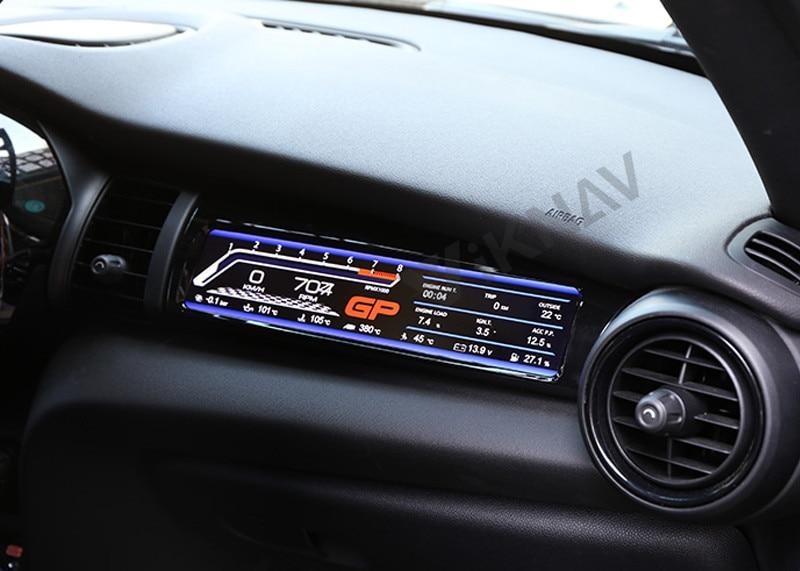 Для bmw mini f55 f56 f57 2014-2020 производительность жидкокристаллический дисплей автомобиль приборной панели пилот пульта мультимедийного экрана
