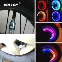 밸브 라이트 자동차 타이어 장식 액세서리 인테리어 장식품 범용 자전거 오토바이 미국 노즐 진동 센서
