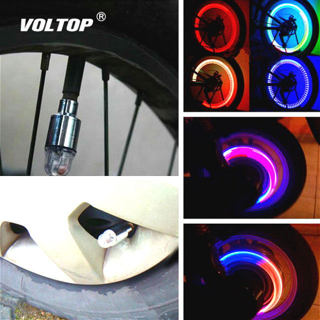 Valve Light Car Tire Decoration Accessories Interior Ornaments Universal Bicycle Motorcycle American Nozzle Vibration Sensor