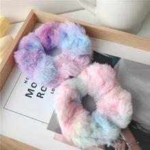 Набор резинок ярких цветов эластичные резинки для волос цветная