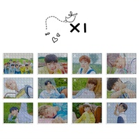 X1 Mini Album Flying: QUANTUM LEAP With The Same Paragraph Photo Puzzle Official Same Paragraph Decoration Collectiable