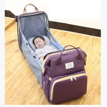 Diaper-Bag Nappy Travel-Backpack Changing-Bed Mommy Multifunction Large-Capacity Baby