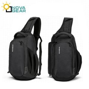 Image 1 - Сумка чехол NOVAGEAR 80611 для DSLR камеры, сумка для фото, наплечный ремень для Canon/Nikon/Sony DSLR камеры s + дождевик