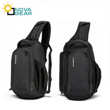 Novagear 80611 一眼レフカメラバッグケース写真のバッグショルダーストラップキヤノン/ニコン/ソニーデジタル一眼レフカメラ + 雨カバー