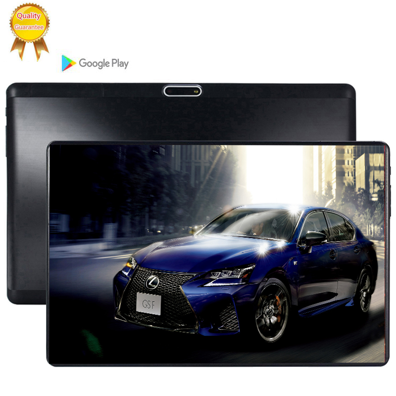 2.5D Glass Screen 10.1 Inch IPS Screen 3G LTE Android 9.0 Tablet Pc 8 Octa Core 6GB RAM 64GB ROM 8MP Camera Tablets 4G LTE Phone