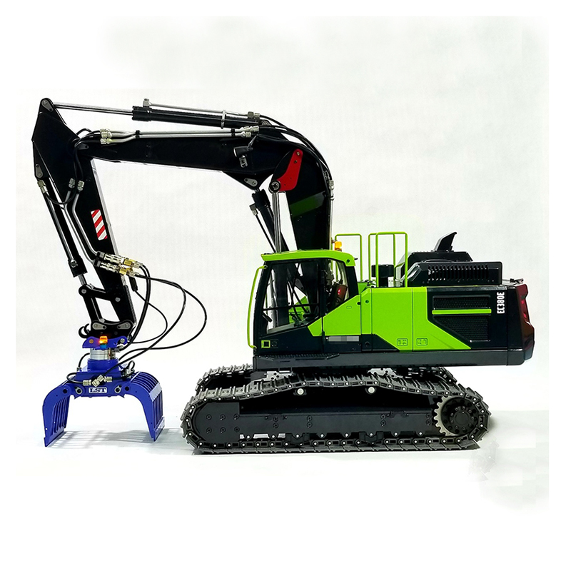 E380-3 1:14 Hydraulic Excavator Remote Control Metal  Model Gift With Adjustable Boom