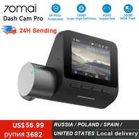 Xiaomi 70mai Pro cámara de salpicadero Full HD 1944P cámara con grabadora para coche GPS ADAS 70 Mai Wifi Dvr coche 24H Monitor de aparcamiento 140FOV visión de noche