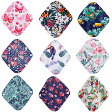 Cloth-Pad Organic Washable-Pads Menstrual-Pads Bamboo-Charcoal Hygiene Sanitary Heavy-Flow